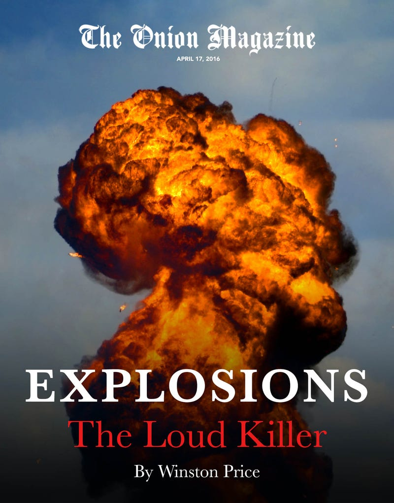 Illustration for article titled Explosions: The Loud Killer