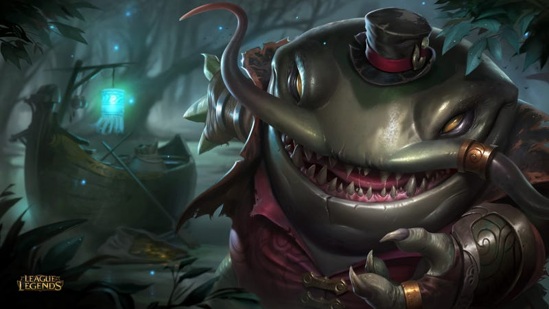 Illustration for article titled League Of Legends' Next Champion Is A Giant Catfish