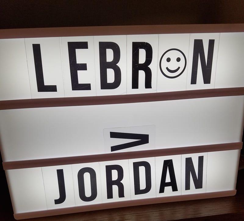 Illustration for article titled Lebron > Jordan