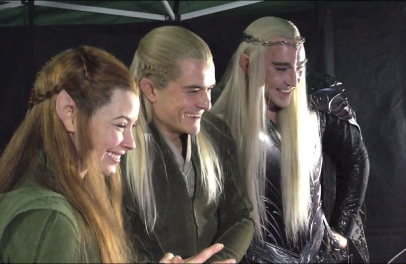 Image result for laughing lotr elves