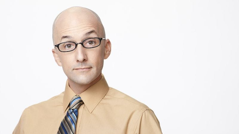 Illustration for article titled Jim Rash's 24-hour marathon of Saturday morning cartoons