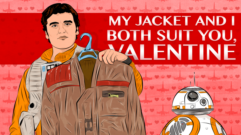 Illustration for article titled Celebrate Love with io9's Superior Star Wars Valentines