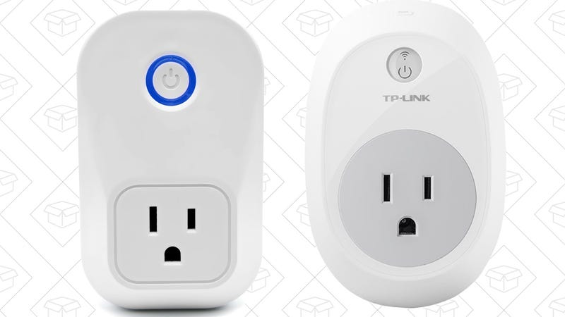Etekcity Smart Wi-Fi Outlet, $23 with code P7WBUFBO | TP-Link Smart Switch, $25