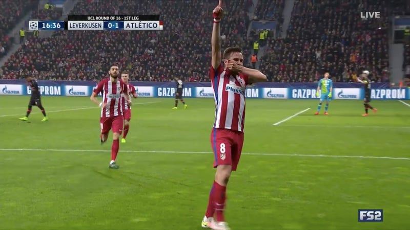 Atlético Madrid s Saúl Scores A Banger Against Bayer Leverkusen ceffb5b72c325