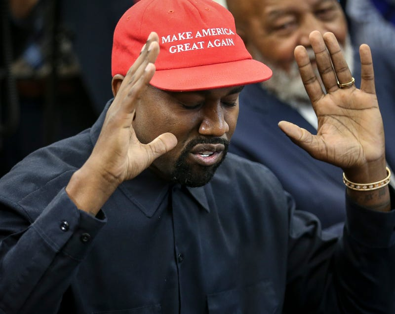 Illustration for article titled Kanye West's Pro-Republican 'Blexit' T-Shirts Call for Black Exodus From Democratic Party