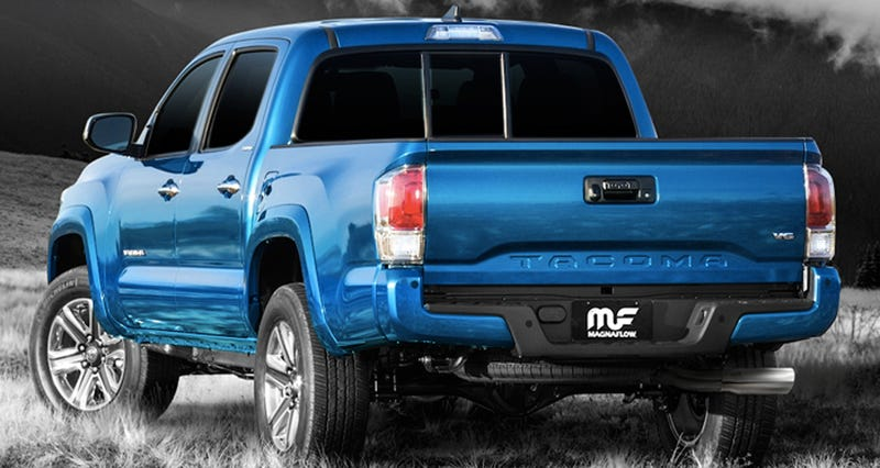 Hear the first aftermarket exhausts on 2016 toyota tacomas slapped new mufflers on the 2016 toyota tacoma but magnaflow is claiming the first true dyno tuned 50 state legal exhaust system for the new truck sciox Images