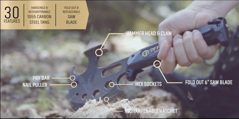 Off Grid Tools Survival Axe | $35 | Amazon