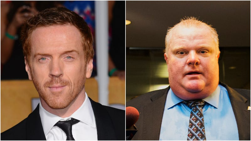 Illustration for article titled Damian Lewis to play crack-smoking Toronto mayor Rob Ford in new movie