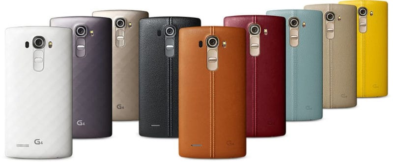 Illustration for article titled LG Accidentally Reveals Its Leather Clad G4 Weeks Early