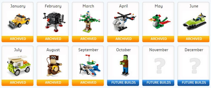 Illustration for article titled How to get a free Lego mini build every month