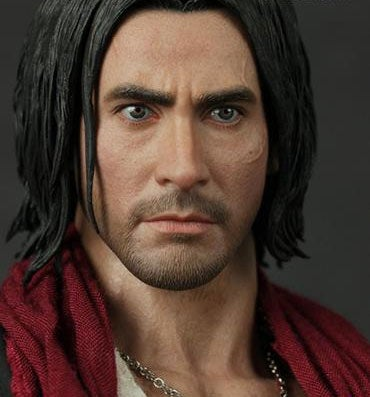Illustration for article titled Prince Of Persia Figure Has Plastic Face, Jakey Chest