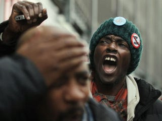 Protester against the NYPD's stop-and-frisk policy (Mario Tama/Getty Images)