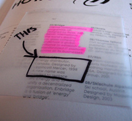 Illustration for article titled Take Notes in Borrowed Books with Sheer Post-its