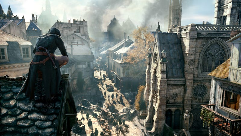 Illustration for article titled Assassin's Creed Unity Brings Back Crowd Manipulation, Adds RPG Elements