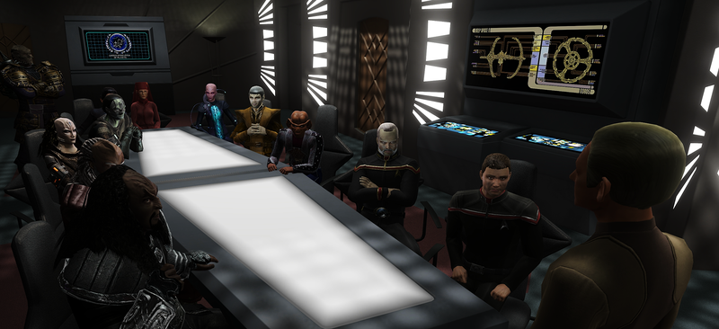 Odo unites some familiar Deep Space Nine faces with characters from Star Trek Online in the game's latest expansion, Victory is Life.