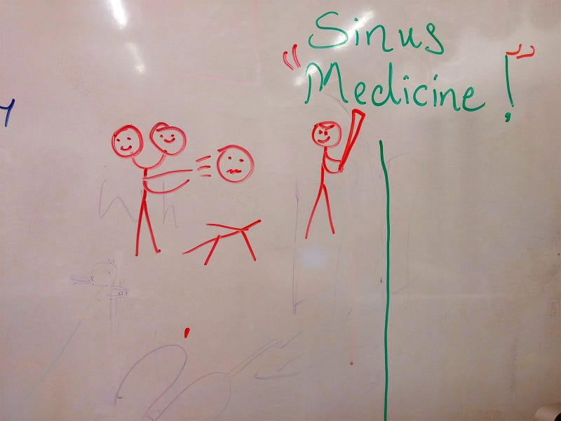 Illustration for article titled Drawing on the board