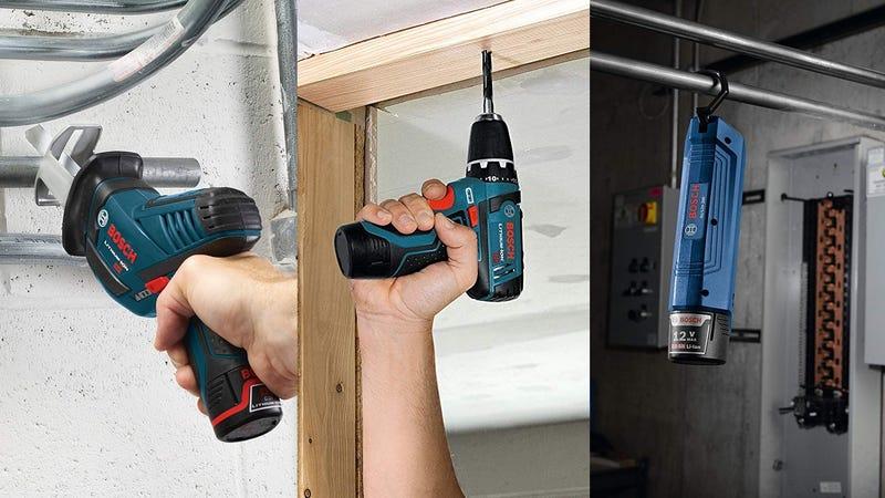Bosch Power Tools Combo Set   $130   Amazon