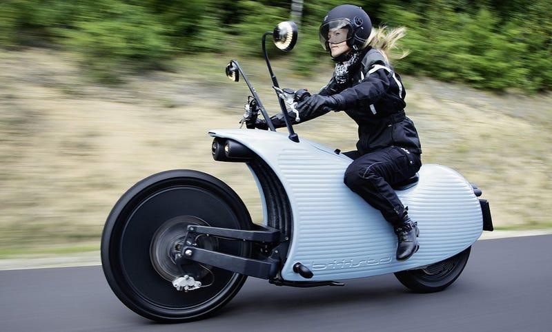 Illustration for article titled Johammer J1, una moto eléctrica retro-futurista que te tentará
