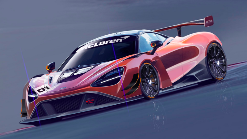 Illustration for article titled The McLaren 720S GT3 Will Look Very Good On Track