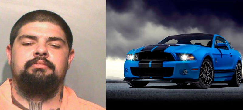 Illustration for article titled Man Named 'Shelby Mustang GT500' Arrested For Wielding Hatchet At Bar