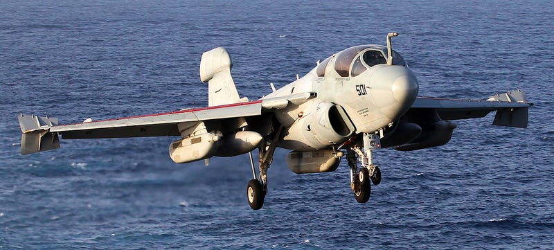 Illustration for article titled The EA-6B Prowler's Last Cruise Is Showcased In These Exclusive Photos