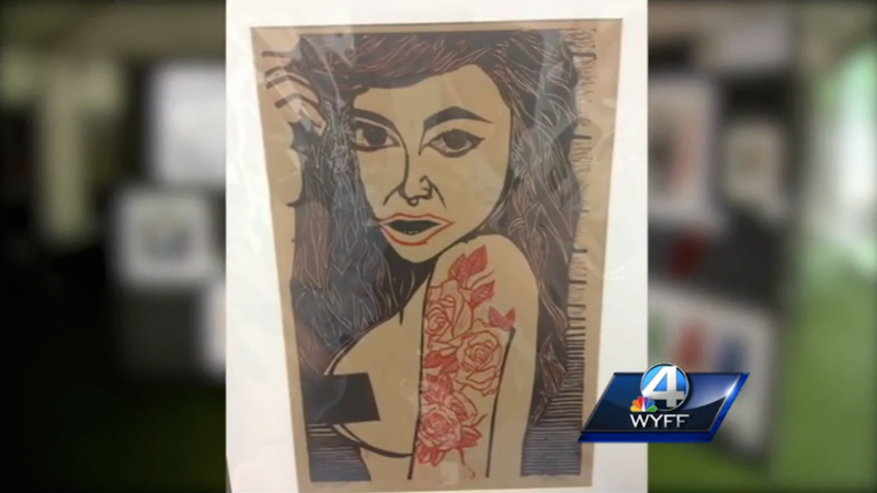 """Illustration for article titled High School Student's """"Rape Culture"""" Piece Kicked out of Art Showcase"""