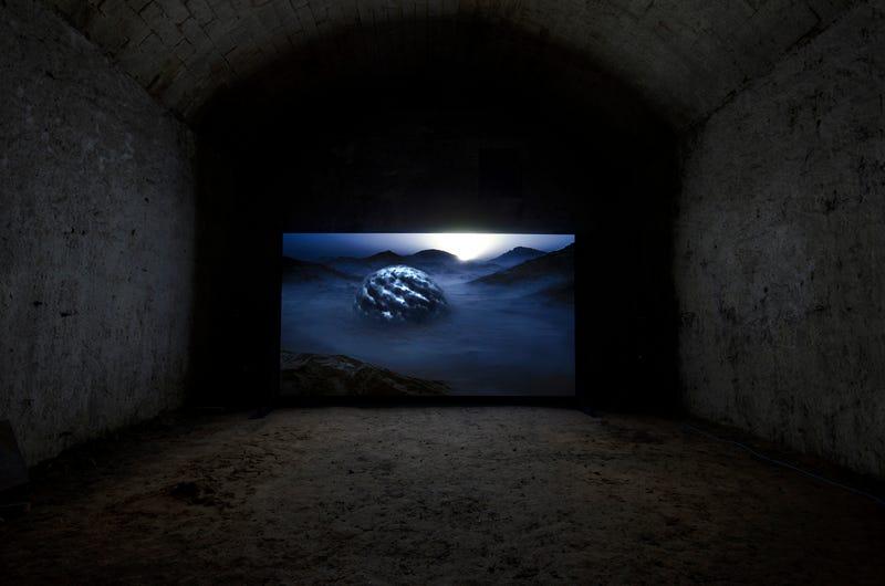 Illustration for article titled Kelly Richardson's Beautiful Futuristic Landscapes Hide A Dark Secret
