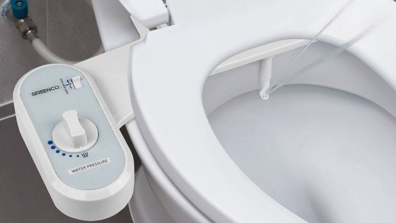 Add A Bidet To Your Existing Toilet For 23