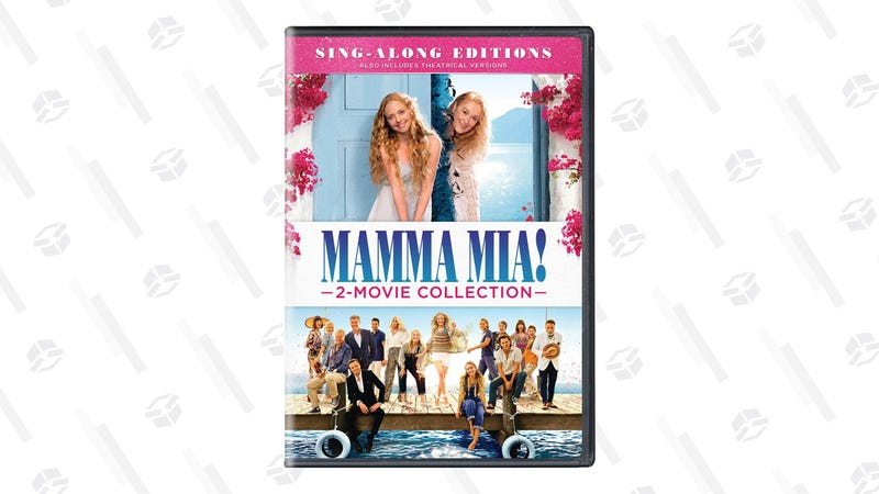 Mamma Mia! 2 Movie Collection on DVD | $13 | Amazon