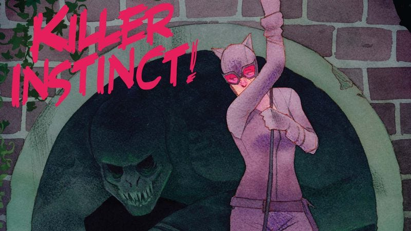 Illustration for article titled Exclusive DC preview: Selina tends to a wounded ally in Catwoman #44