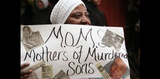 Phyllis Duncan, founder of Mathers of Murdered Sons (Scott Olson/Getty Images)