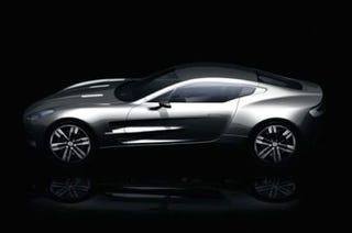 Illustration for article titled First Image Of The New Flagship Aston Martin One-77 Released