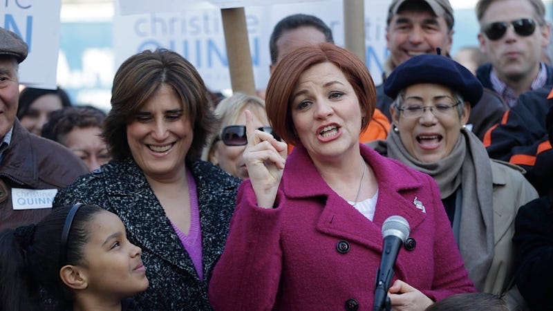 Illustration for article titled Christine Quinn Might Soon Become New York's First Openly Gay, Lady Mayor