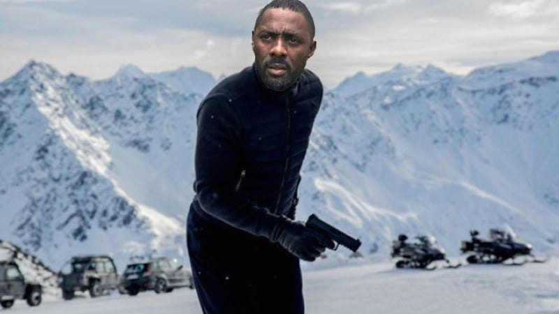 "Illustration for article titled Bad Job, Internet: All your ""Idris Elba as Bond"" talk has ruined that possibility"
