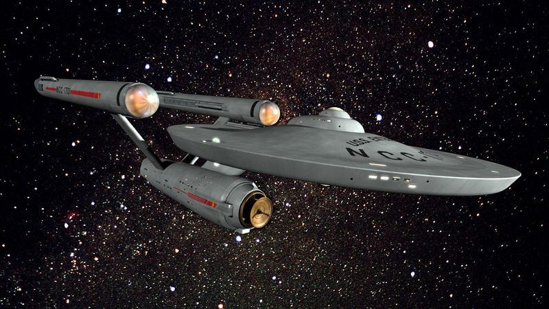 Illustration for article titled Read This: Turns out the USS Enterprise is pretty poorly designed