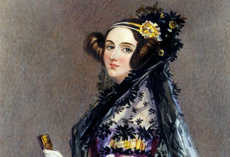 La Condesa de Lovelace, en 1840
