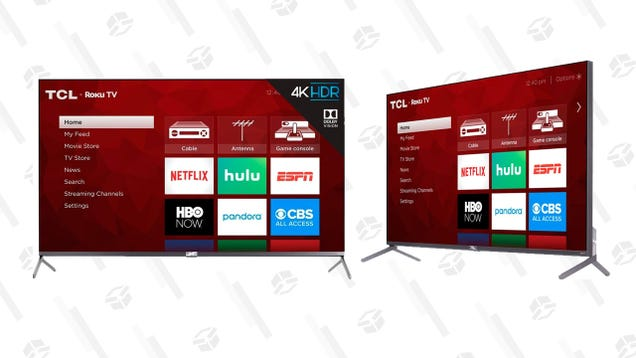 Get a Taste of Tomorrow s TV Tech With TCL s 55  4K QLED for $500