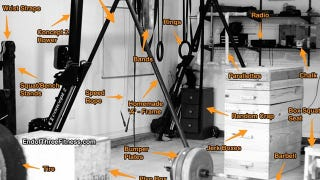 Illustration for article titled Transform Your Garage into a Home Gym