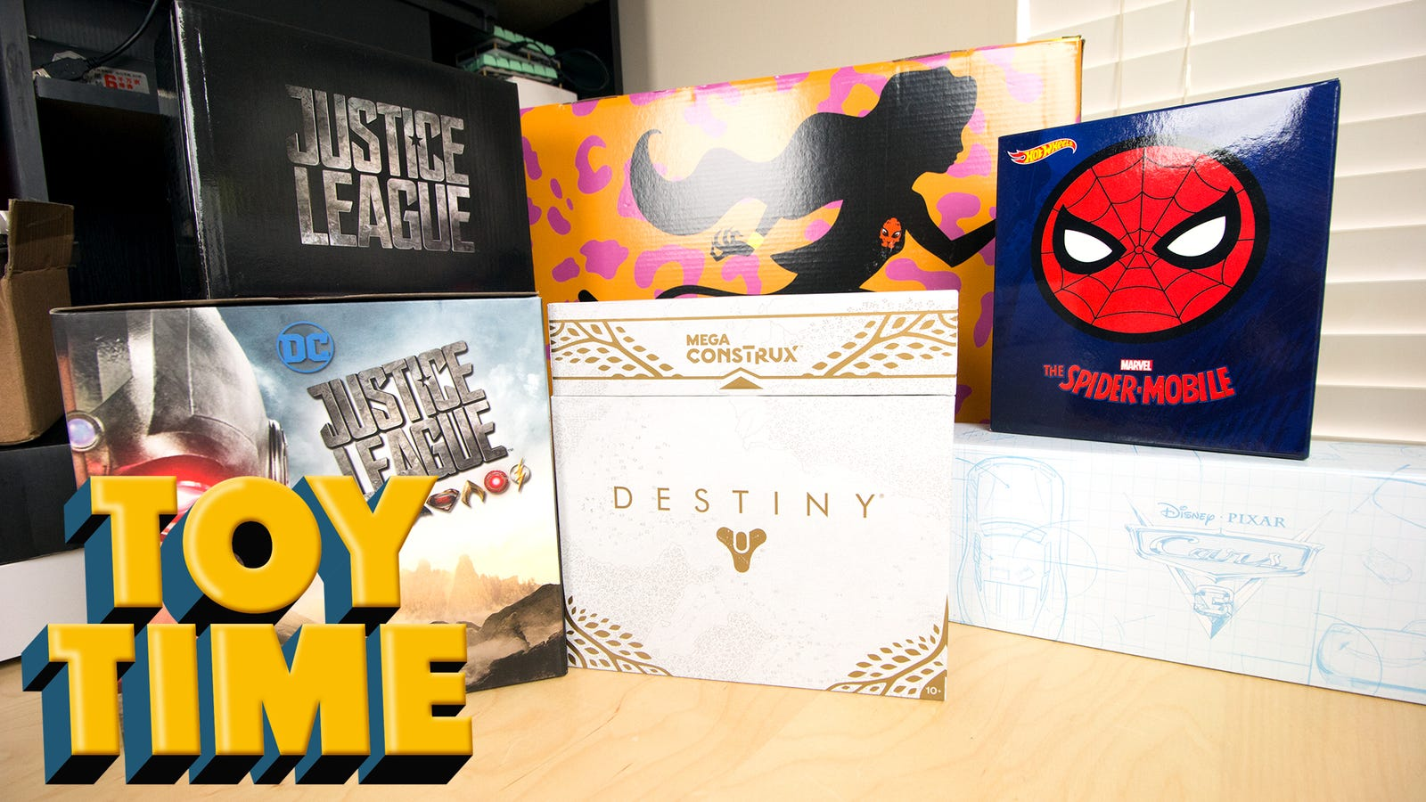 Toy Time Plays With Mattel's 2017 SDCC Exclusives, Destiny And Otherwise