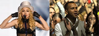 Illustration for article titled Madonna And A-Rod Go Public