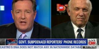 CNN's Piers Morgan interviews an expert about the Department of Justice scandal. (CNN screenshot)