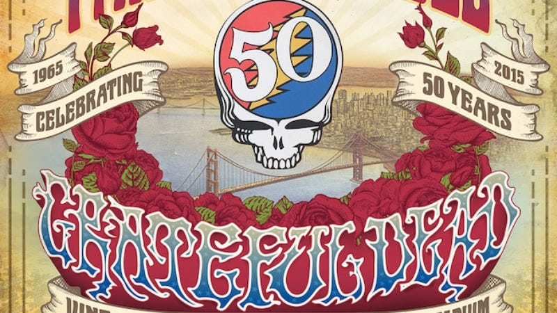 Illustration for article titled The Grateful Dead adds two additional shows to its farewell tour