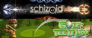 Illustration for article titled XBLA This Week: Schizoid And Golf : Tee It Up!