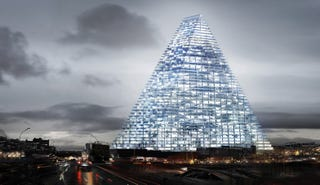 Illustration for article titled El primer rascacielos de París en 40 años tendrá forma de triángulo