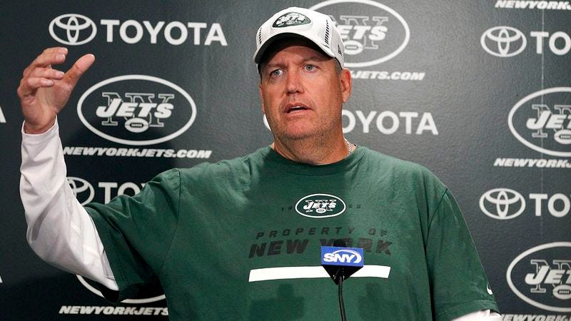 Illustration for article titled Rex Ryan On Jets Season: 'Anything Short Of 6-10 Is A Failure'