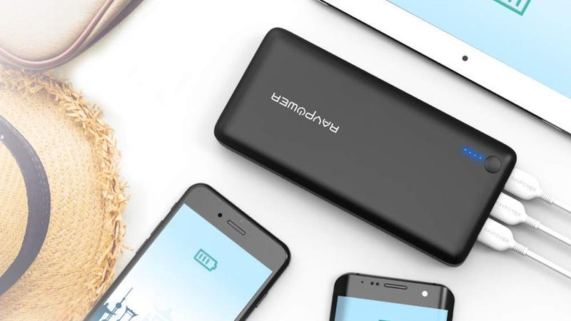RAVPower 26,800 mAh USB Batter Pack | $36 | Amazon | Promo code 2HNSLWQX