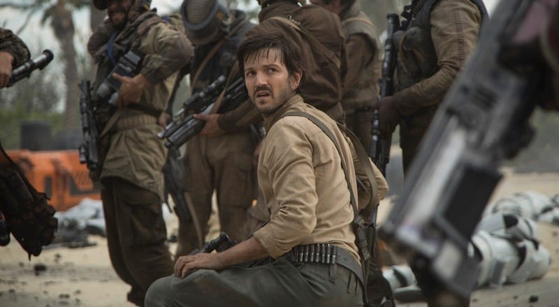 Diego Luna as Captain Cassian Andor in Rogue One: A Star Wars Story. All images: Walt Disney Studios