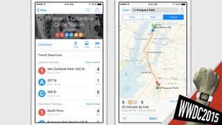 Illustration for article titled FINALLY Apple Maps Adds Transit Directions
