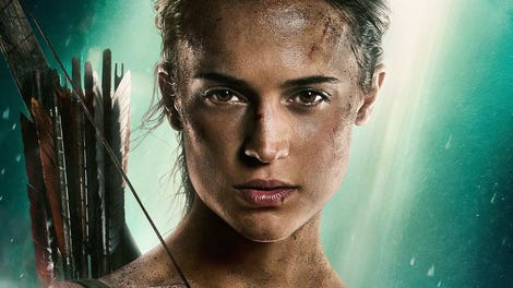 tomb raider movie cast