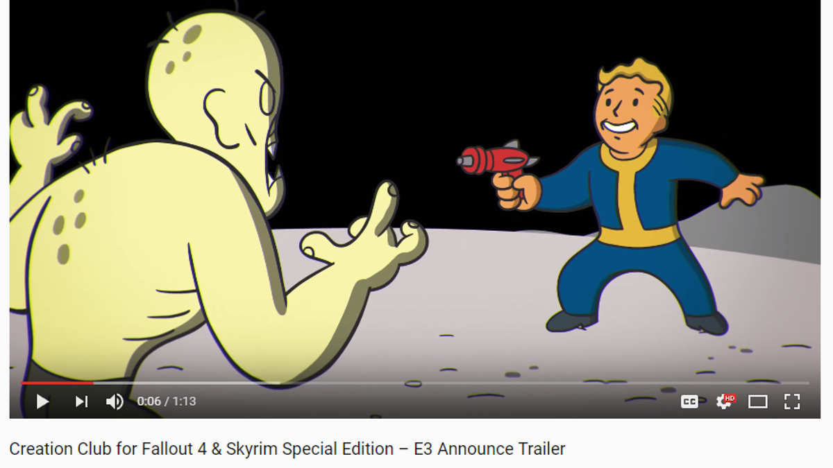 Skyrim and Fallout Fans Are Skeptical of Bethesda's New